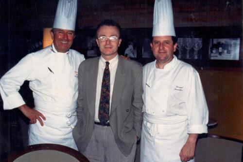 Com Roger Jaloux e Laurent Suaudeau